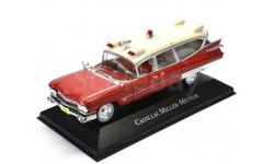 CADILLAC Miller Meteor Ambulance (скорая медицинская помощь) 1959, масштабная модель, Atlas, scale43