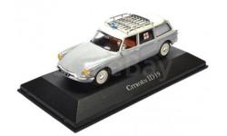 CITROEN ID 19 White/Silver, масштабная модель, Atlas, scale43, Citroën