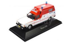 VOLVO 264 Ambulance White/Red, масштабная модель, Atlas, scale43
