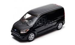 FORD Transit Connect (V408) 2014 Black, масштабная модель, Greenlight Collectibles, 1:43, 1/43