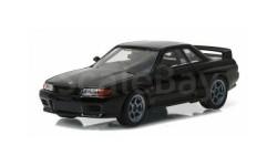 Nissan Skyline GT-R (R32) 1989 'Fast & Furious 7' (из к/ф 'Форсаж VII'), масштабная модель, Greenlight Collectibles, scale43