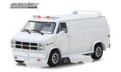 GMC Vandura Custom (фургон) 1983 White, масштабная модель, Greenlight Collectibles, scale43
