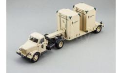 Горький тип 51П тягач и Т-213 полуприцеп, L.e. (песочный), масштабная модель, ГАЗ, DiP Models, 1:43, 1/43
