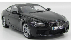 BMW M6 (F13M) Coupe (black sapphire), масштабная модель, Paragon Models, scale18