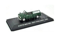 AUSTIN MINI 850 'BEPI KOELLIKER' 1968 Green/White, масштабная модель, Altaya, scale43