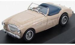 AUSTIN-HEALEY 100 BN1 1953 Tonneau Coronet Cream, масштабная модель, Oxford, scale43