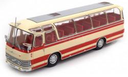 автобус NEOPLAN NH 9L 1964 Beige/Red, масштабная модель, IXO, scale43