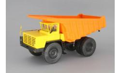 БелАЗ-7510 самосвал-углевоз, желтый / оранжевый, масштабная модель, Наш Автопром, scale43