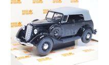 Горький-М1 фаэтон с тентом (черный), масштабная модель, Наш Автопром, scale43, ГАЗ