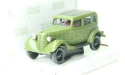 Горький-61-73, зеленый матовый, масштабная модель, Наш Автопром, scale43, ГАЗ