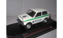 LADA Niva 2121 Полиция Словакии, масштабная модель, 1:43, 1/43, IST Models, ВАЗ