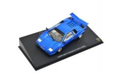 LAMBORGHINI Countach LP 400 S 1978 Blue, масштабная модель, Altaya, 1:43, 1/43