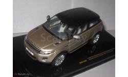 Range Rover Evoque 3-door - Ipanema Sand and Black 2011