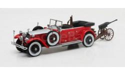 Rolls Royce Phantom Barker Torpedo Tourer Hrh Maharaja of Kota #23RC с охотничьим пулемётом 1925, масштабная модель, Matrix, scale43, Rolls-Royce