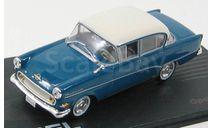 OPEL REKORD PI 4-doors 1957-1960 Blue/Crème, масштабная модель, Opel Collection, scale43
