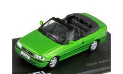 OPEL ASTRA F Cabriolet 1992-1998 Green Metallic, масштабная модель, IXO, scale43