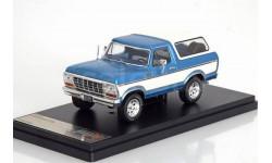 FORD Bronco 4x4 1978 Metallic Blue/White