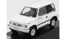 SUZUKI ESCUDO 4х4 1992 White, масштабная модель, Premium X, scale43