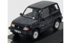SUZUKI VITARA 4х4 1992 Metallic Dark Blue, масштабная модель, Premium X, scale43