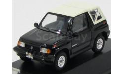 SUZUKI VITARA 1.6 JLX 4x4 Convertible с закрытым тентом 1992 Black, масштабная модель, Premium X, scale43