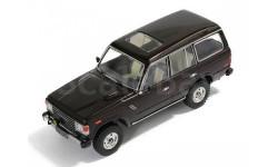 Toyota Land Cruiser 60 1982 Metallic Dark Brown, масштабная модель, Premium X, 1:43, 1/43