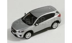 MAZDA CX-5 кроссовер 4х4 2012 Silver, масштабная модель, Premium X, scale43