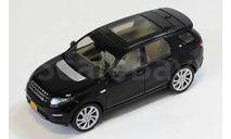 LAND ROVER DISCOVERY SPORT 4х4 2015 Black, масштабная модель, Premium X, 1:43, 1/43
