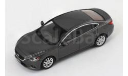 MAZDA 6 2013 Dark Grey, масштабная модель, Premium X, scale43