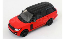 RANGE ROVER VOGUE 2014 Matt Red/Black, масштабная модель, Premium X, scale43