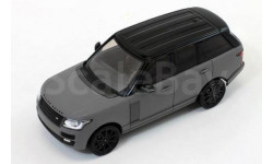 RANGE ROVER VOGUE 2014 Matt Grey/Black, масштабная модель, Premium X, scale43