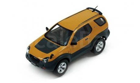 ISUZU VehiCROSS 4x4 1997 Yellow metallic, масштабная модель, Premium X, 1:43, 1/43