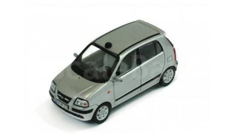 HYUNDAI ATOS Prime 2004 Silver, масштабная модель, Premium X, scale43