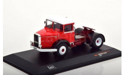 седельный тягач BERNARD 150 MB 1951 Red/White, масштабная модель, IXO, scale43