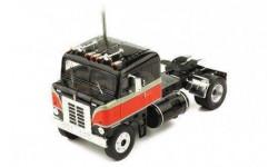седельный тягач KENWORTH Bullnose 1950 Black/Red, масштабная модель, IXO, scale43