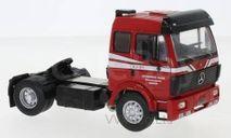 седельный тягач MERCEDES-BENZ SK 1948 1990 Red, масштабная модель, IXO, scale43