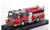 SEAGRAVE Marauder II 'Pelham Fire Department' 2007 Red/Black, масштабная модель, IXO, scale43