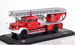KRUPP Tiger Metz DL 52 'Fire Brigade Essen' (пожарная лестница) 1956, масштабная модель, IXO, scale43