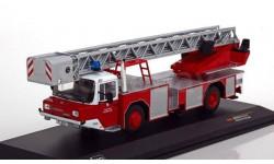 MAGIRUS DLK 2312 'Feuerwehr Frankfurt' (пожарная лестница), масштабная модель, IXO, scale43