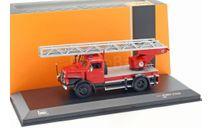 IFA S4000 DL Fire Brigade (пожарная лестница) 1962, масштабная модель, scale43