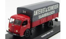 PANHARD MOVIC 'Anterist & Schneider Saarbrucken' 1952, масштабная модель, IXO, scale43