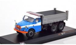 TATRA 148S3 6х6 самосвал 1970 Blue/Grey, масштабная модель, IXO, scale43