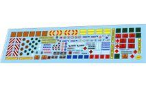 набор декалей Прицепы #1, фототравление, декали, краски, материалы, Doctor Decal, scale43