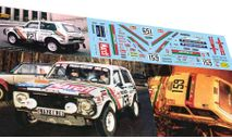 набор декалей Дакар Нива 2121 №159 Ралли Дакар 1981, фототравление, декали, краски, материалы, Doctor Decal, scale43