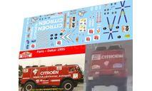 набор декалей Камский техничка команды Citroen Дакар 1995, фототравление, декали, краски, материалы, Doctor Decal, scale43, Citroën