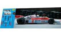 набор декалей Formula 1 №21 McLaren M23 №2 Jochen Mass, фототравление, декали, краски, материалы, Doctor Decal, scale43