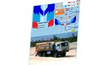 набор декалей Камский грузовик №510 дакар 1991, фототравление, декали, краски, материалы, Doctor Decal, scale43, КамАЗ