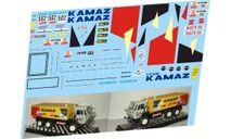 набор декалей Камский грузовик №502 objectif sud, фототравление, декали, краски, материалы, Doctor Decal, scale43, КамАЗ