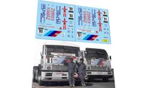 набор декалей КАМский грузовик №80 №81 кольцевой, фототравление, декали, краски, материалы, Doctor Decal, scale43, КамАЗ
