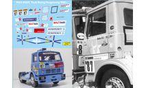 набор декалей МАЗ 5432С №87 кольцевой команда «МАЗ-TRT» 1988 г, фототравление, декали, краски, материалы, Doctor Decal, scale43