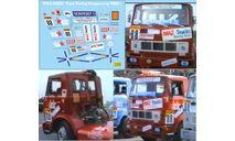набор декалей МАЗ 5432С №88 кольцевой команда «МАЗ-TRT» 1988 г, фототравление, декали, краски, материалы, Doctor Decal, scale43